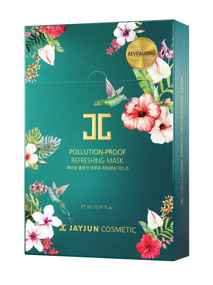 JAYJUN Pollution-Proof Mask 27ml / 0.91 fl.oz. Pack of 10 (Refreshing)