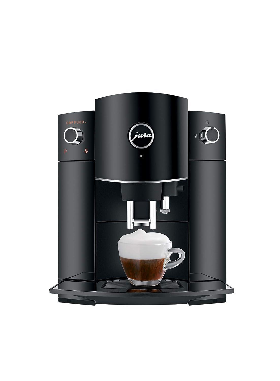 Jura 15215 D6 Automatic Coffee Machine, Black