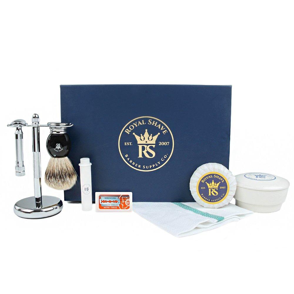 RoyalShave 34C HD Shaving Set- Complete Wet Shave Set by Royal Shave