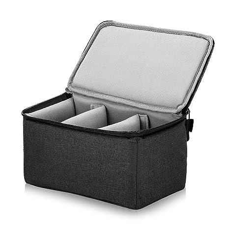 UTEBIT - Bolsa para cámara réflex Digital (16,4 cm x 26,6 cm ...