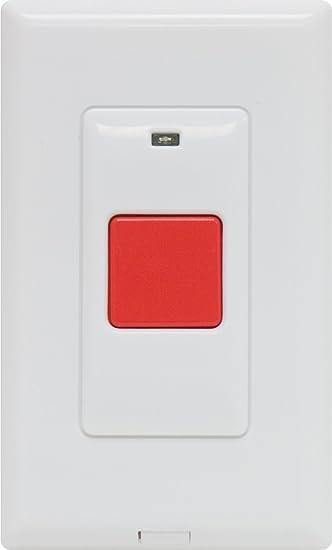 GE Choice Alert Wireless Alarm System Panic Button - Household ...