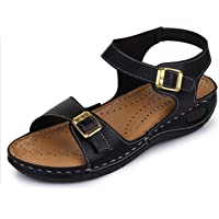 TRASE Women's Synthetic Leather Dr - Plus Ortho Slippers/Sandals