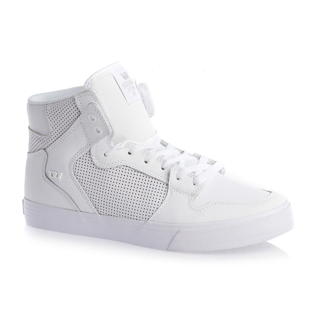 SUPRA(スープラ) VAIDER B00LGRV06Y 9.5 D(M) US White Gunny TUF/White Microperf Leather