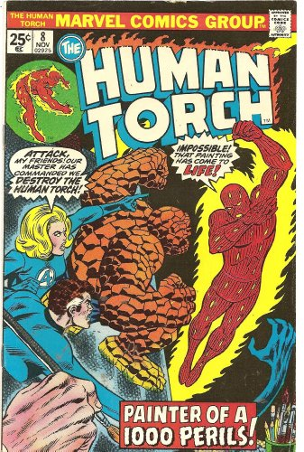 The Human Torch #8 (