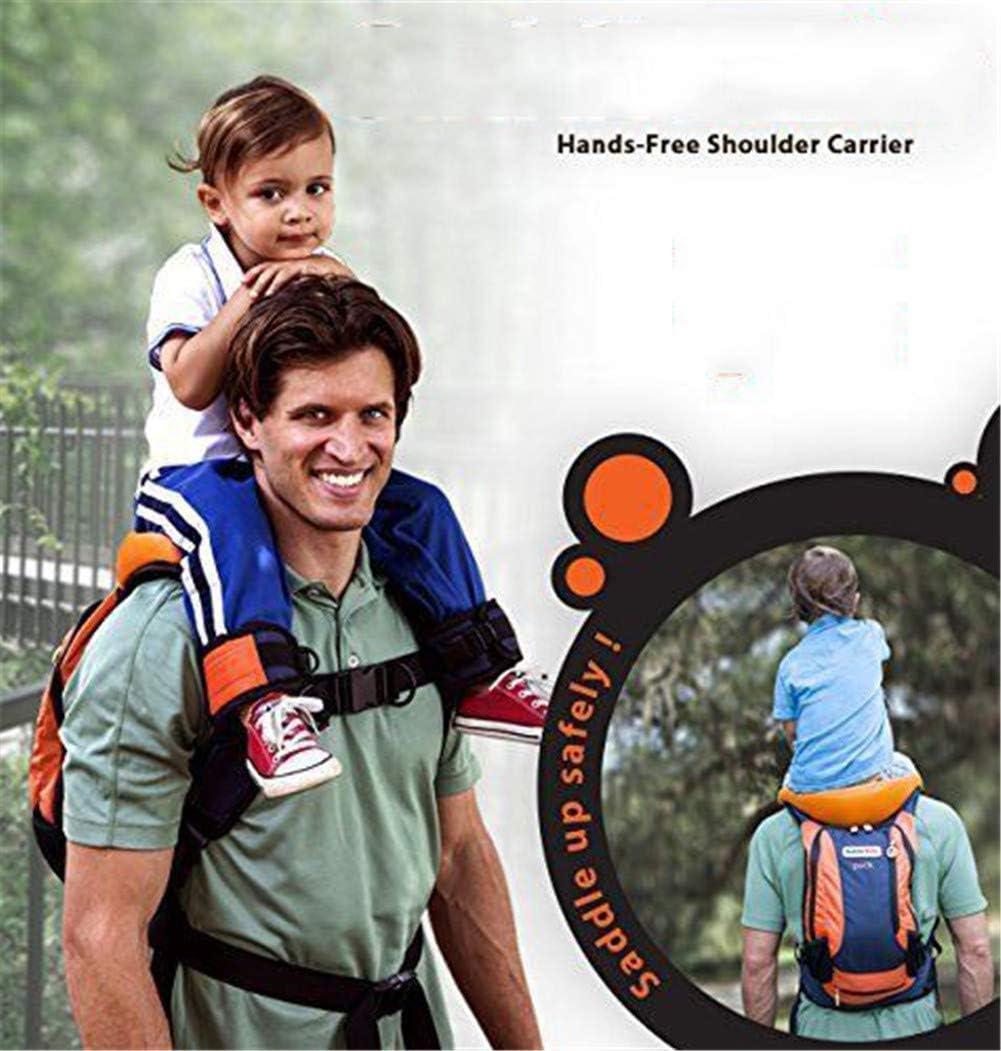 Shoulder seat /'SaddleBaby/' Hiking Child Carrier on Shoulders