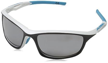 Alpina Sonnenbrille Amition Sorcery Sportbrille, Green/White Matt, One Size