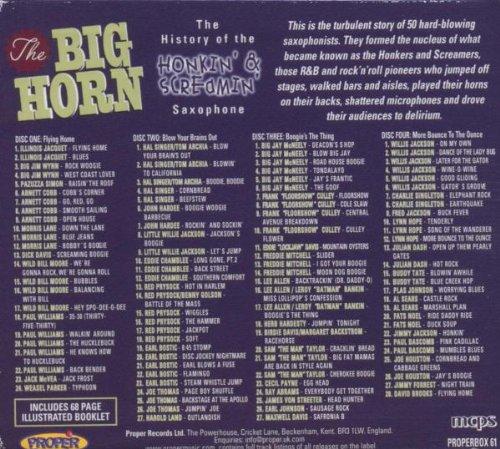 Big Horn: History of Honkin Saxophone / Various