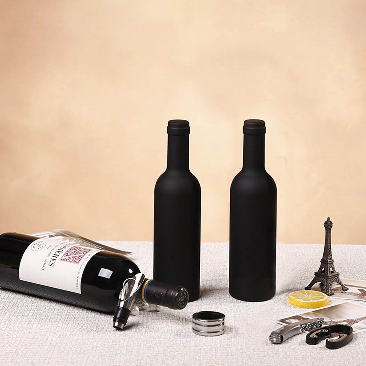 LONGLISHENG alta qualità 3pcs/set vino Opener Pourer tappo Drip Ring Deluxe Wine Accessory set