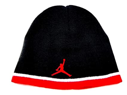 "a3d6a7c90bbb12 Image Unavailable. Image not available for. Color: NIKE JORDAN  ""JUMPMAN"" KNIT BEANIE SKULL CAP ..."