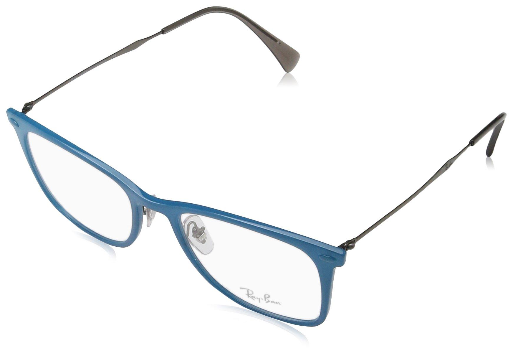 Ray-Ban Unisex RX7086 Eyeglasses Acquamarine 51mm