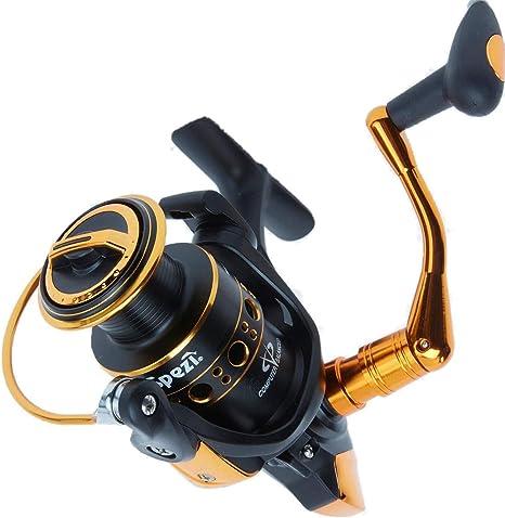 Angelspezi WR 4000 Carrete de Pesca de Spinning Trucha Rollo Freno ...