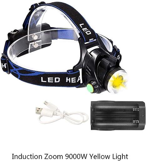 ZSAIMD Focos de carga de deslumbramiento LED Cabalgatas Caza ...