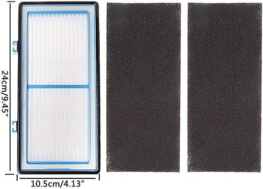 lailongp 2 filtros HEPA y 4 filtros de carbón para Filtro de Aire ...