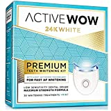 Active Wow 24K White Teeth Whitening (Premium Teeth Whitening Kit)