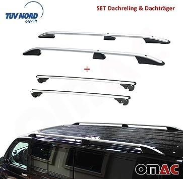Dachträger Alu für VW Transporter Multivan Caravelle T6 ab 2015 Grau TÜV ABE