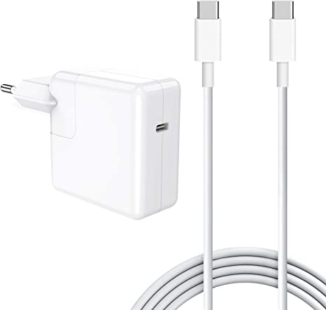 SIXNWELL Cargador Mac book USB C 30w Cargador Macbook Air ,30W ...
