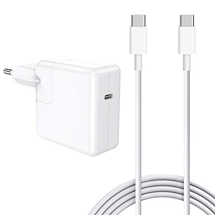 SIXNWELL Cargador Mac book USB C 30w Cargador Macbook Air ,30W Cargador Macbook USB C portatil movil compatible con Mac book 12 pulgadas y Mac Air ...
