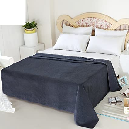 e0bc0bb483 Image Unavailable. Image not available for. Color: UYDBKSJABM Woolen Blanket  Dormitory NAP ...