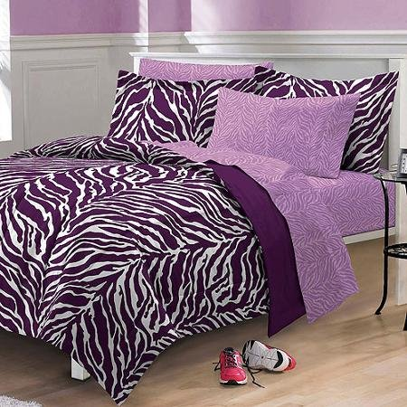My Room Zebra Complete Bed In A Bag Bedding Set