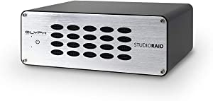 Glyph StudioRAID 4TB 2-Bay Raid Desktop External Hard Drive with USB 3.0 Connection - Compatible with Mac OS X, Windows, Time Machine, FireWire 800, eSATA, USB 2.0