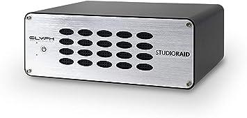 GLYPH STUDIO 4TB EXTERNAL BACKUP STORAGE HARD DRIVE FW800 USB 3.0 eSATA RAID 0//1