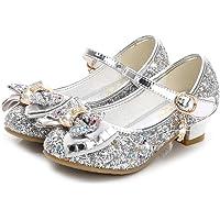 Liqiqi - Zapatos de princesa para niña, bailarinas