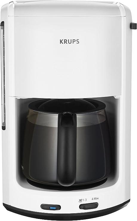 Krups FMD241 Pro Aroma Plus - Cafetera automática, color blanco ...