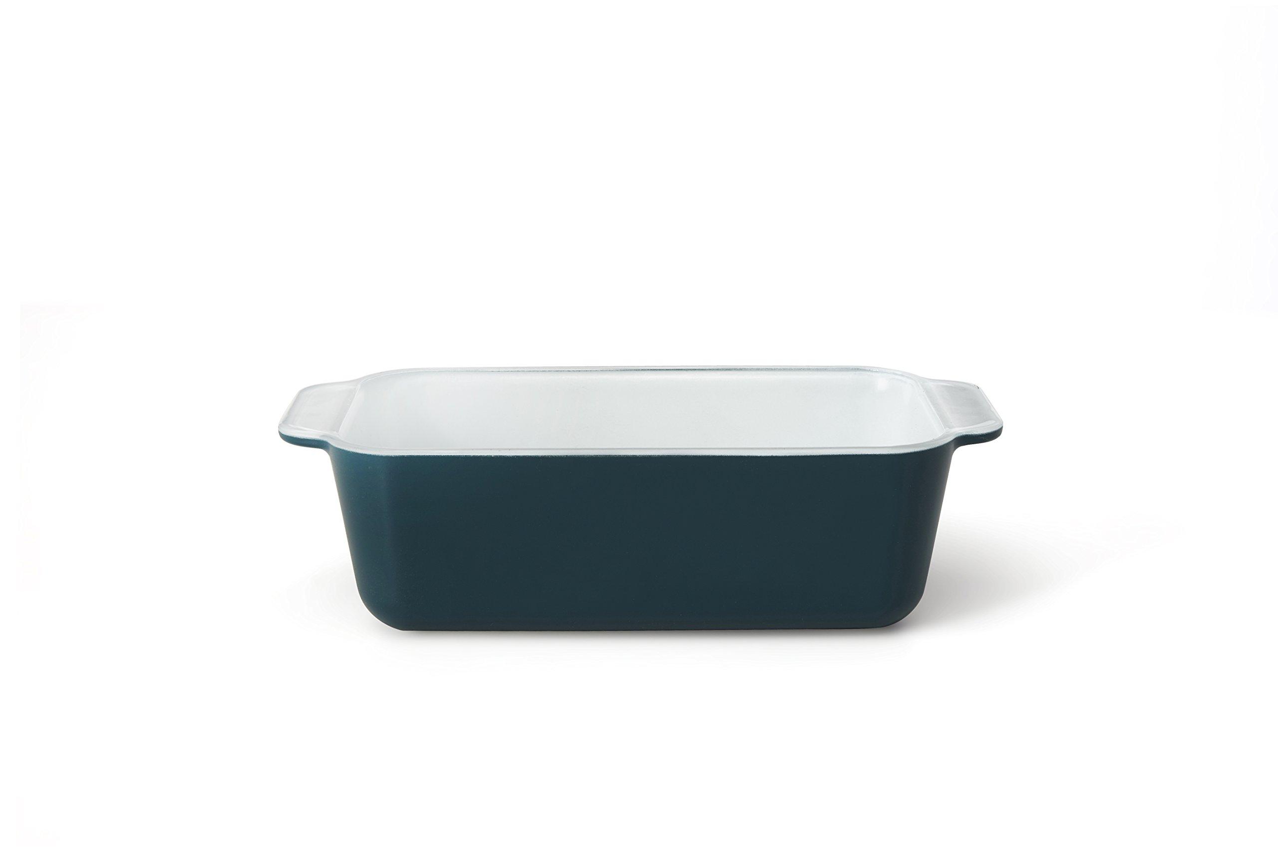 Creo SmartGlass Cookware, 8.5 inch Loaf Pan, Mediterranean Blue