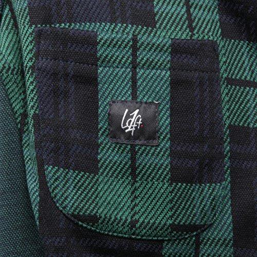Loft Verde Cotone nero blu Jacket Giacca Men Cotton B5505 1 Uomo Verde XIq7PwE