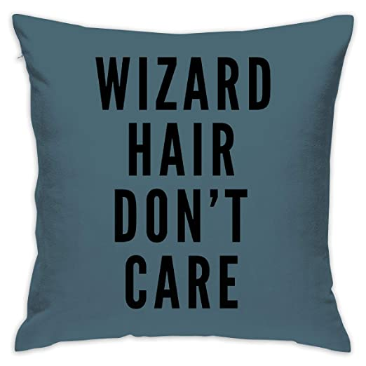 Crazy Popo Geek Wizard - Funda de Almohada Decorativa, Funda ...