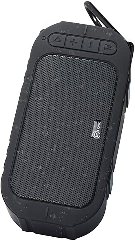 Biconic Bluetooth Water Resistant Enhanced Bass Portable