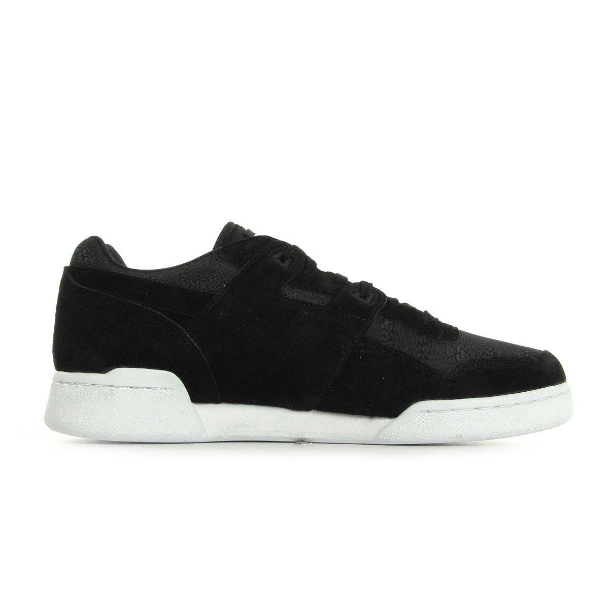 49276372803 Reebok Workout Plus Cordura Men s Trainers - Black (UK 12 EU 47)  Amazon.co. uk  Shoes   Bags