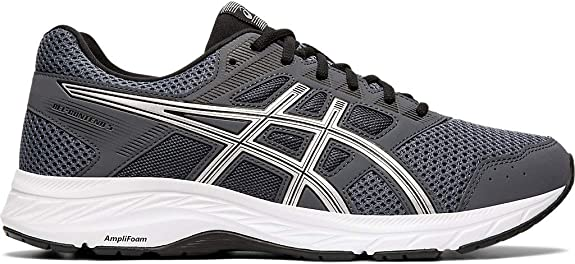 ASICS Men's Gel-Contend 5 Running Shoes, 6M, Carrier Grey/Silver