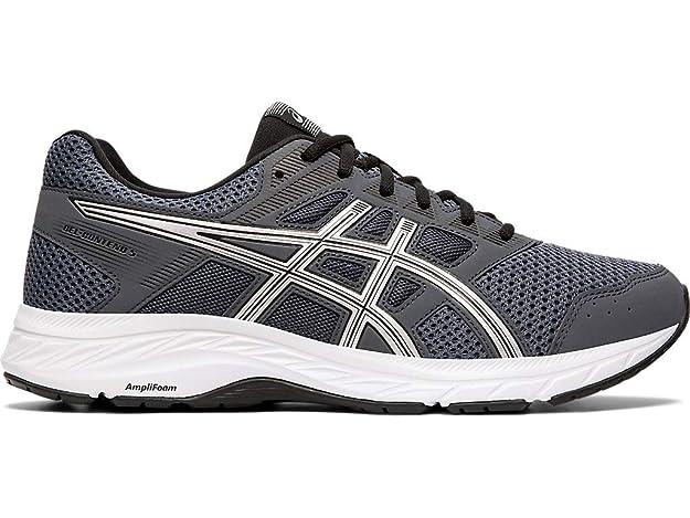 ASICS Men's Gel-Contend 5 Running Shoes, 6M, Carrier Grey/Silver
