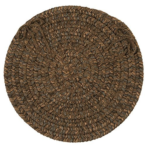 Hayward Chair Pad, 15 by 15-Inch, Bark, 4-Pack ()