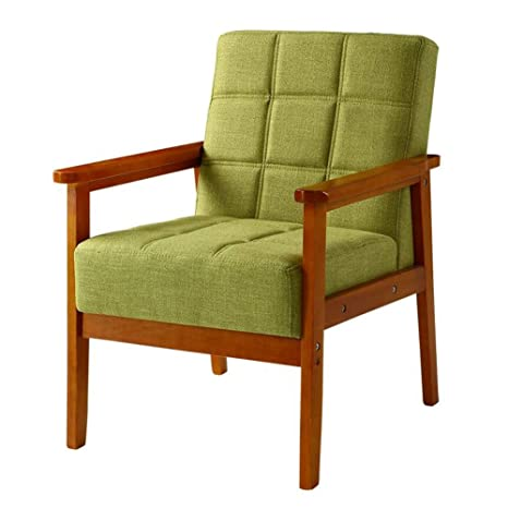 Amazon.com: QQXX CJC - Sofá tapizado de madera de un solo ...