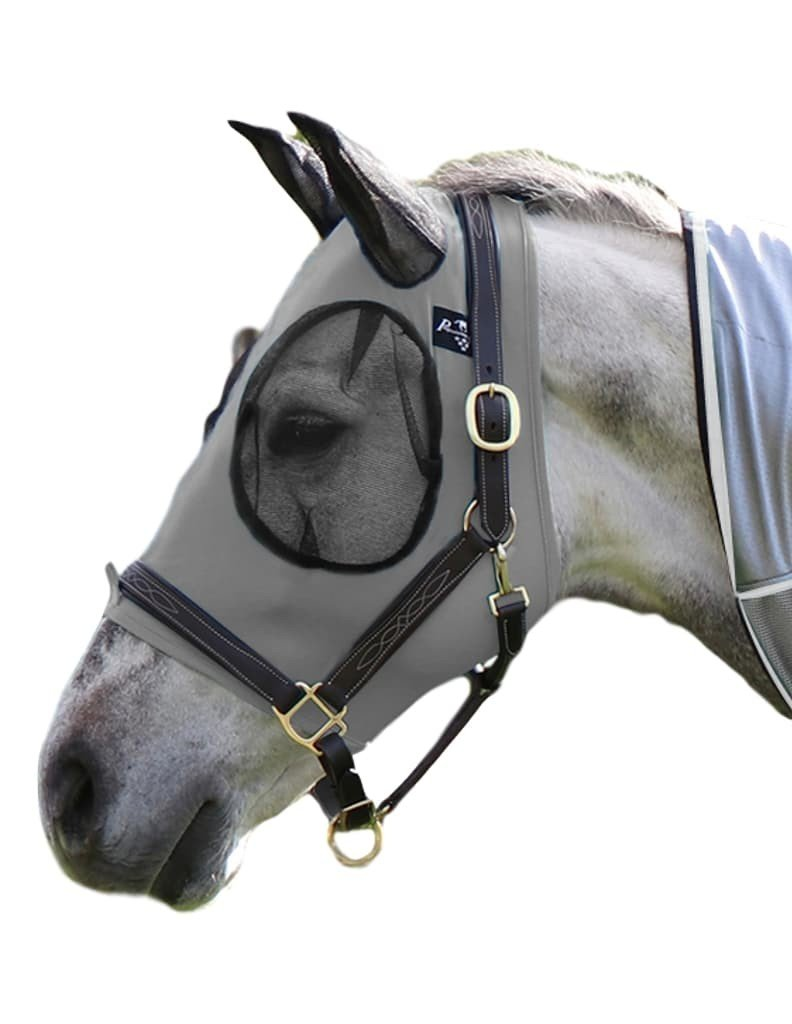 Professional`S Choice Comfort Fit Fly Mask Charcoal Horse by Professional's Choice
