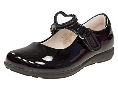b80c9ab2e891d Lelli Kelly Colourissima Girls Infant School Shoes 25 (UK 7) Black Patent