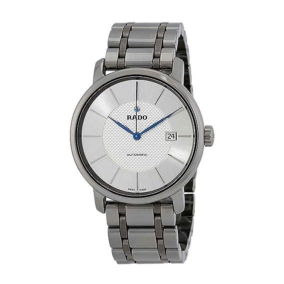 Rado DiaMaster Reloj de Hombre automático 41mm Correa de cerámica  R14074132  Amazon.es  Relojes 42244c067e348