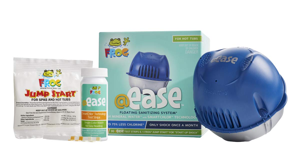 FROG @ease Floating Sanitizing System by @ease