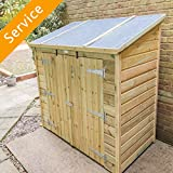 Storage Shed Assembly