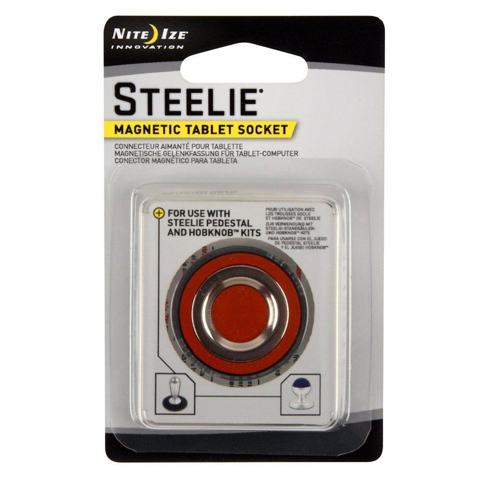 Nite Ize Original Steelie Magnetic Tablet Socket - Additional Magnet for Steelie Tablet Mounting Systems