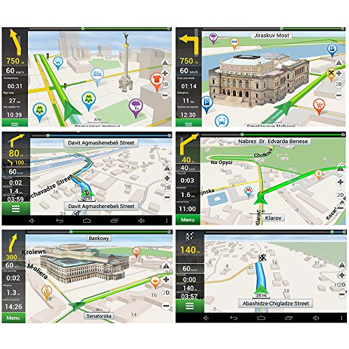 moveable household car GPS Navigation System Units 7 Inch Capacitive filter 8GB Windows CE 60 US and Canada rather long time Maps Vehicle Navigator household car GPS