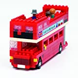 Kawada Nanoblock London Tour Bus Building Blocks