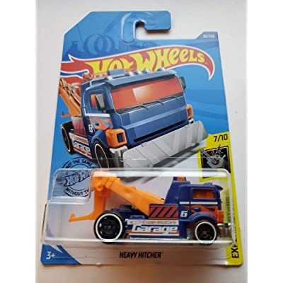 Hot Wheels 2020 Experimotors Heavy Hitcher (Tow Truck) 30/250, Purple: Toys & Games