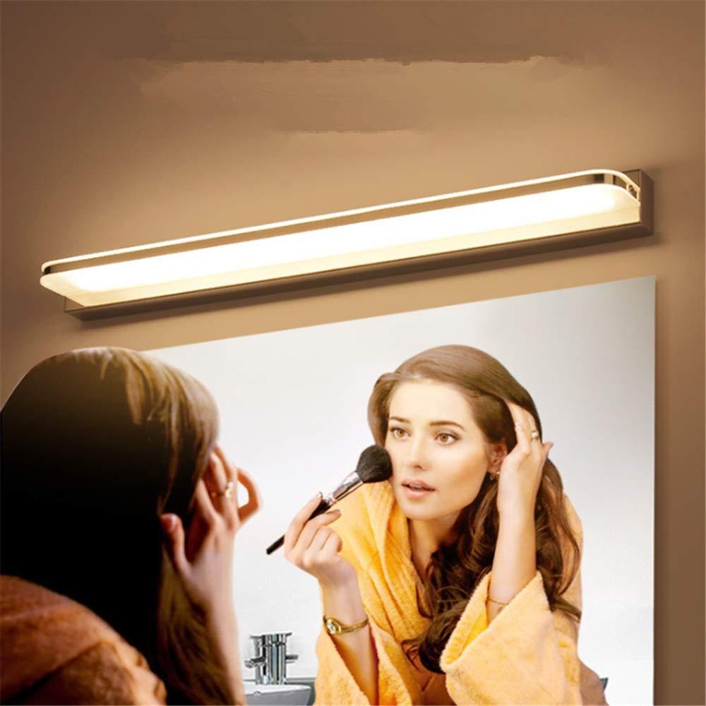 LULUVicky-Home Lampe de Miroir Moderne Simple Maquillage Mur Lampe Salle De Bains Miroir Avant Phares LED Vanity Lumi/ère /Étanche Anti-Brouillard M/énage Coiffeuse Cabinet Lumi/ères
