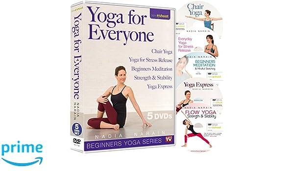 Yoga For Everyone with Nadia Narain 5 DVD Ultimate Yoga Box ...
