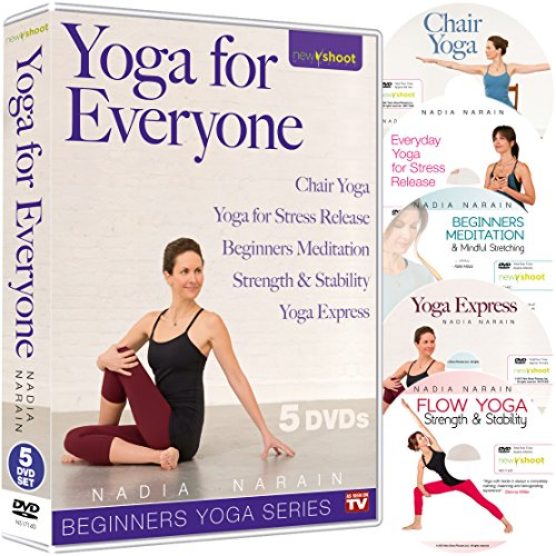 YOGA FOR EVERYONE - Beginners Yoga Series - 5 DVD Box Set with Nadia Narain by New Shoot Pictures LLC