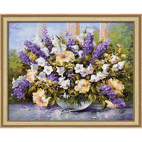 Schipper Summer Flowers Paint-by-Number Kit