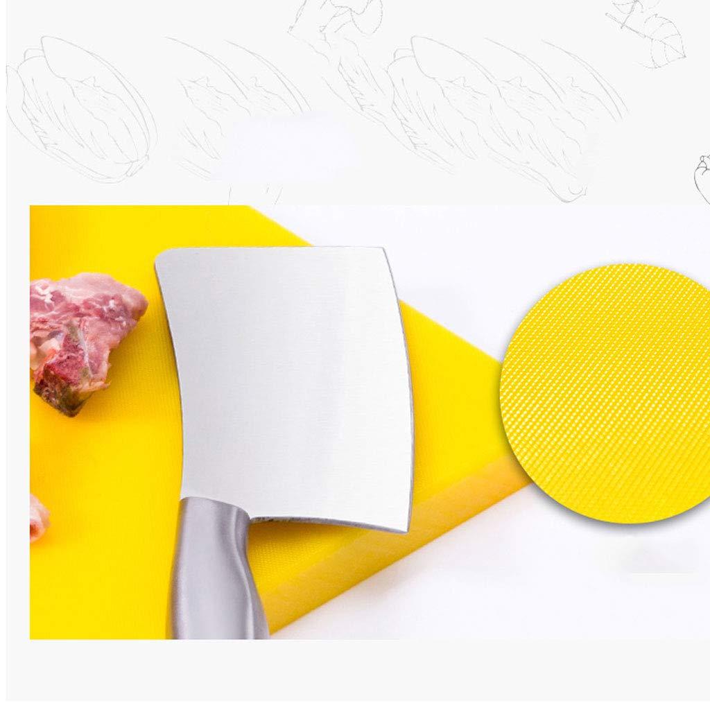 Verdicken Verdicken Verdicken Haushalts Schneidebrett Schneidebrett Klebrige Bord Kunststoff Emaille Panel PE Gemüse Pier Messer Board (Farbe   Gelb, Größe   45  31  3cm) B07LCHKWG3 Schneidbretter da77c0